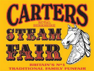 Carters Steam Fair Logo